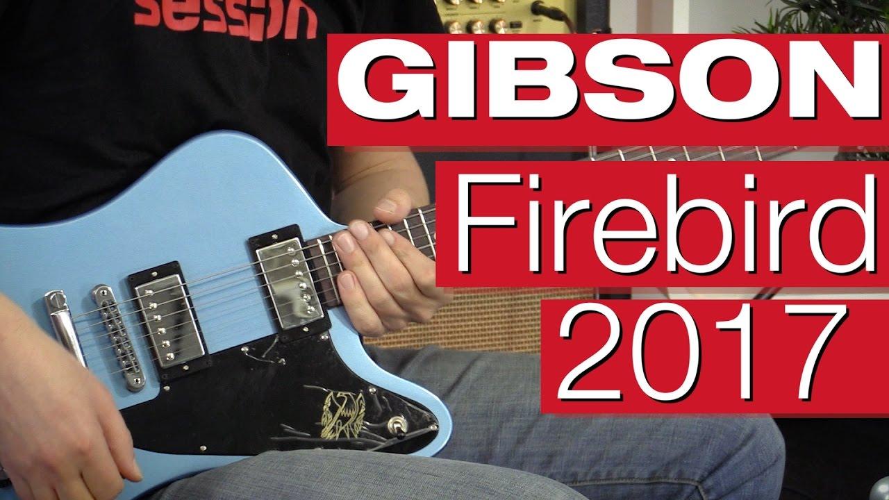 Gibson Firebird T Studio 2017 | session