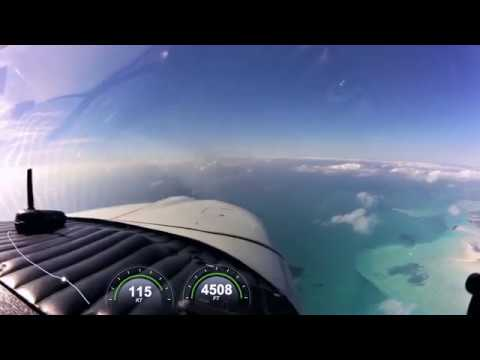 Complete flight to Nassau from Staniel Cay, The Bahamas
