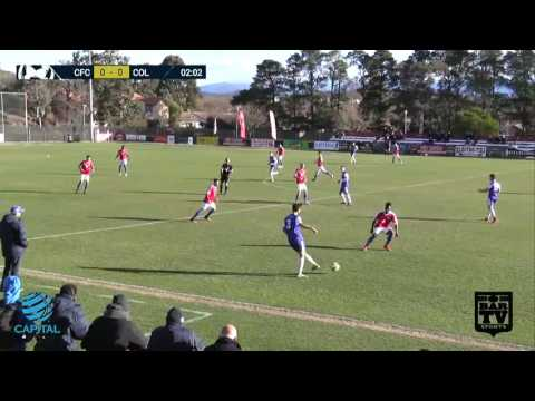2017   Capital Football Round 11 Canberra FC v Canberra Olympic