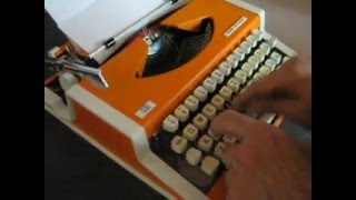 Typewriter Unis, Olympia Traveller