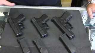 glockl 42 vs glock 43 vs glock 19 live fire comparison of carry pistols