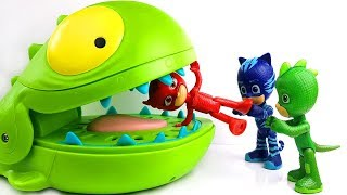PJ Masks , Paw Patrol , Peppa Pig , Oddbods With Crocodile Toys Learn Colors