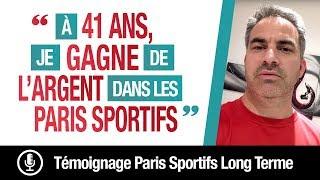 A 41 ANS, je GAGNE de l'ARGENT avec les PARIS SPORTIFS...