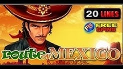 Route OF Mexico - Slot Machine - 20 Lines + Bonus