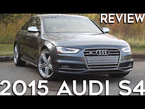 2015 Audi S4: Hardcore Sleeper Sedan