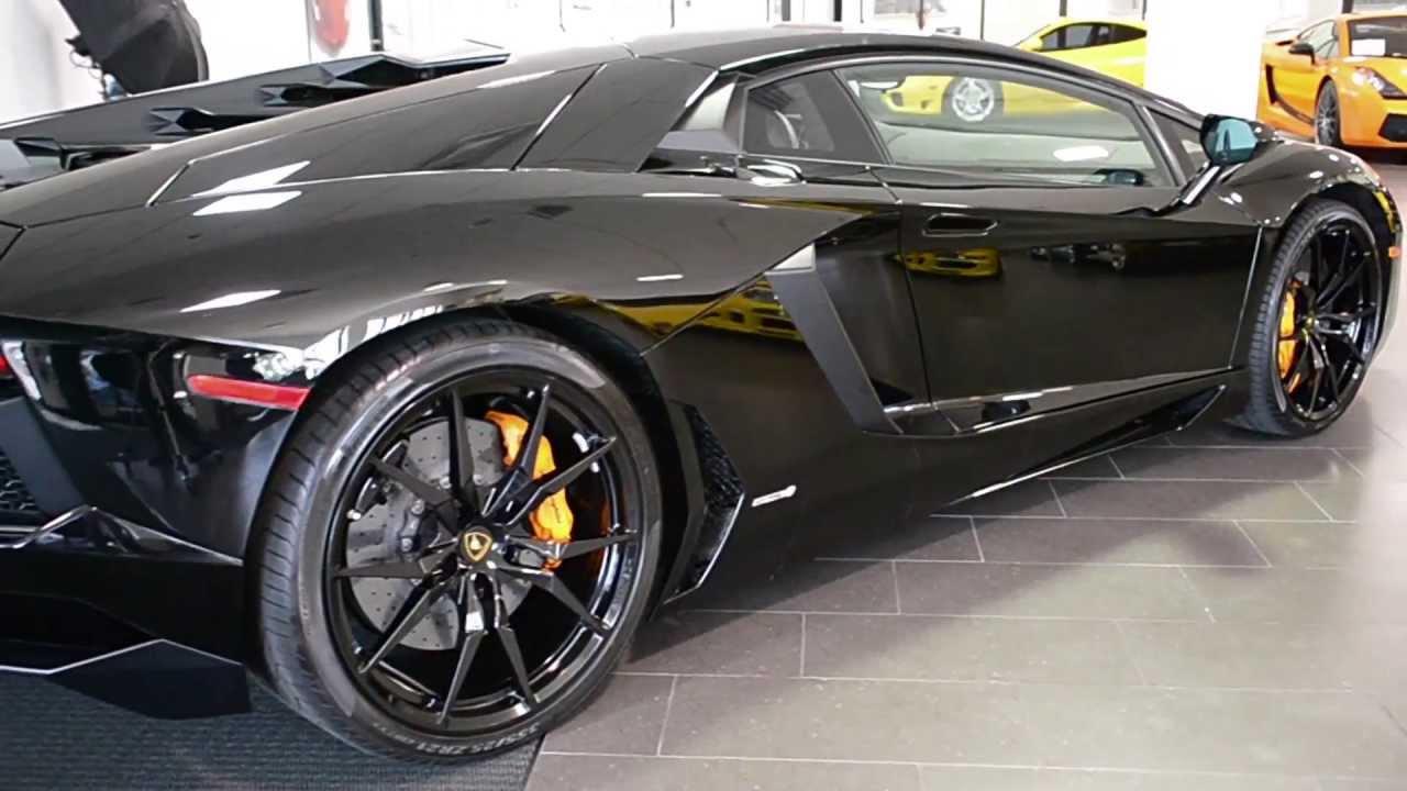 Free Carfax Report >> 2013 Lamborghini Aventador LP700 4 Nero Aldebaran LC245 - YouTube