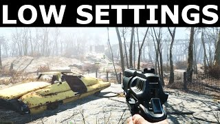 Fallout 4 - Low Graphics Lowest Settings Possible - GTX 760 Core i5 4670 FPS