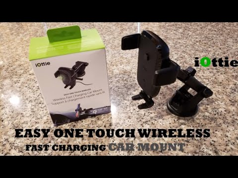 iOttie EASY ONE TOUCH WIRELESS FAST CHARGING DASHBOARD AND WINDSHIELD MOUNT