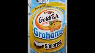 Repeat youtube video Pepperidge Farm Goldfish Grahams S'mores Review