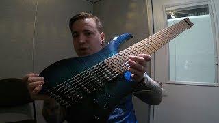 Baixar UNBIASED NAMM REVIEW - Giulio Negrini Guitars Fëanor 8-string Multiscale Headless - Lutheria GNG