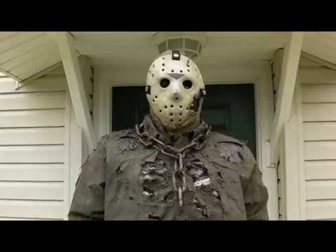 Halloween Costume Jason Friday 13th.Friday The 13th The New Blood Jason Costume Life Sized