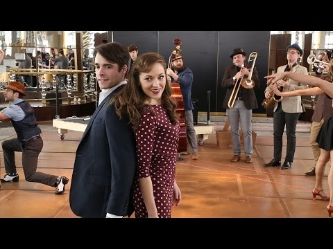 Rehearsal Clips: Corey Cott & Laura Osnes in BANDSTAND