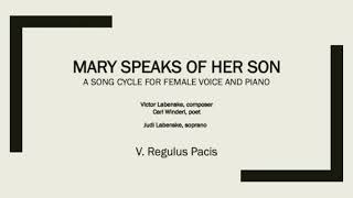 5. Regulus Pacis from Mary Speaks of Her Son
