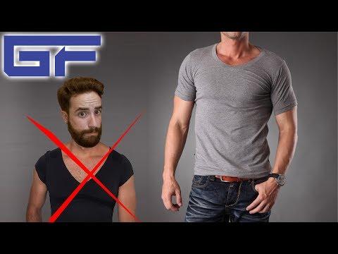 BIEN S'HABILLER quand on est SPORTIF N°1 : Le T-shirt