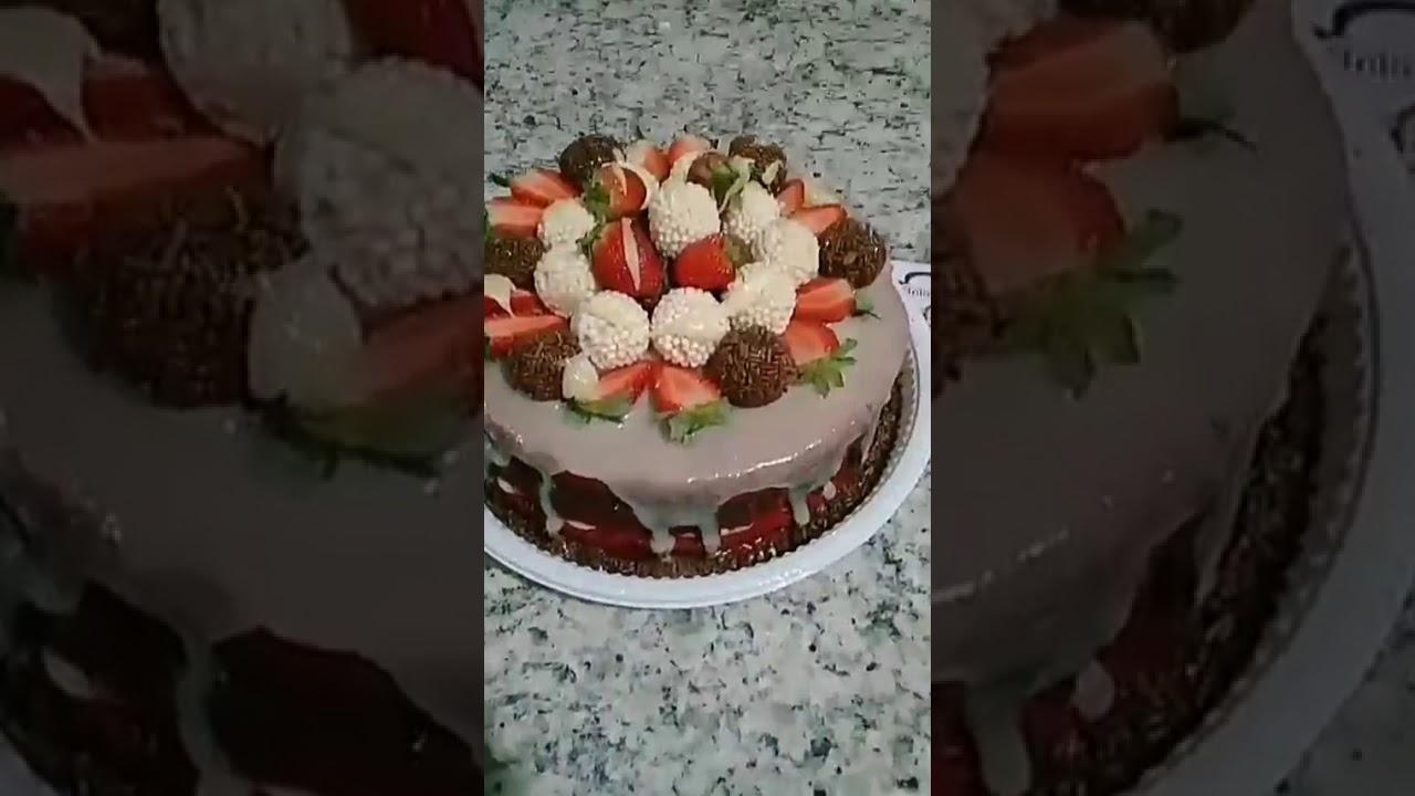 Naked Cake - YouTube