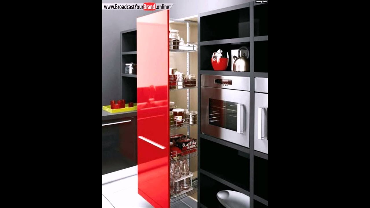 gro e moderne k che stauraum ideen vertikal ordnung youtube. Black Bedroom Furniture Sets. Home Design Ideas