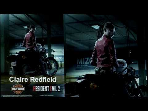 Resident Evil 2 Remake - No Claire Redfield Gameplay
