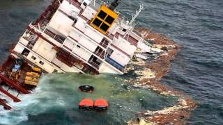 Container Ship Accidents - Container Ship Sinking