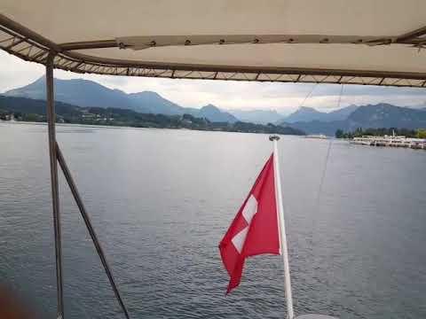 2018 Swiss culture in Luzern, Switzerland