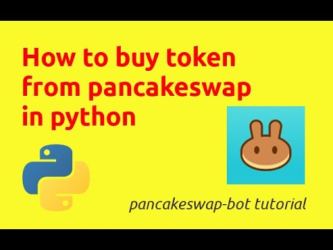 How to Buy Token From Pancakeswap in Python