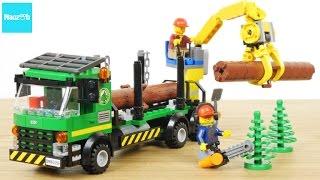 レゴ シティ ログトラック 60059 / LEGO CITY,  LEGO City Logging Truck 60059