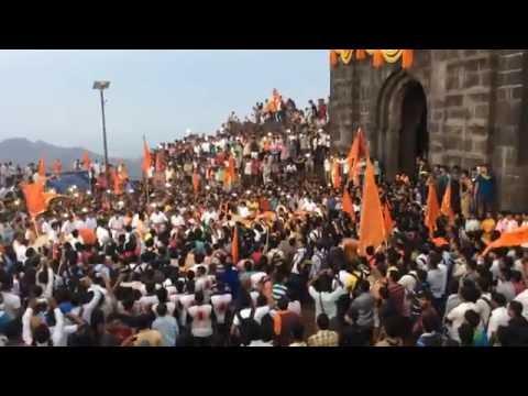 Dhol at Rajyabhishek sohla of shivaji maharaj 2016