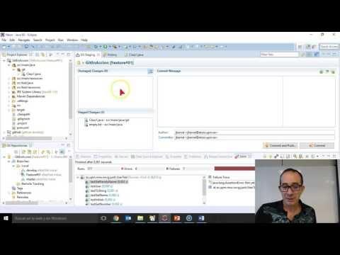 Desarrollo de software colaborativo con GitHub y Eclipse. Parte I. Demo en acción