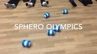 Sphero Olympics at Wascana Plains