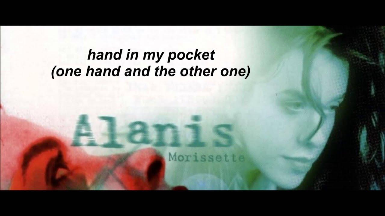One Hand In My Pocket Alanis Morisette Edited Youtube