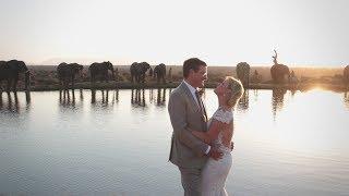 Jeff and Carrie   Camp Jabulani Wedding Videographer