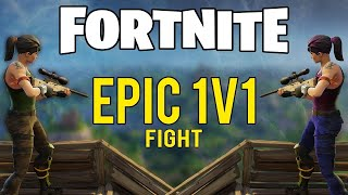 JUGANDO 1VS1 EN FORTNITE