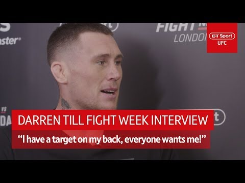 'I'm a target, people pray for my demise!' Darren Till UFC London fight week interview