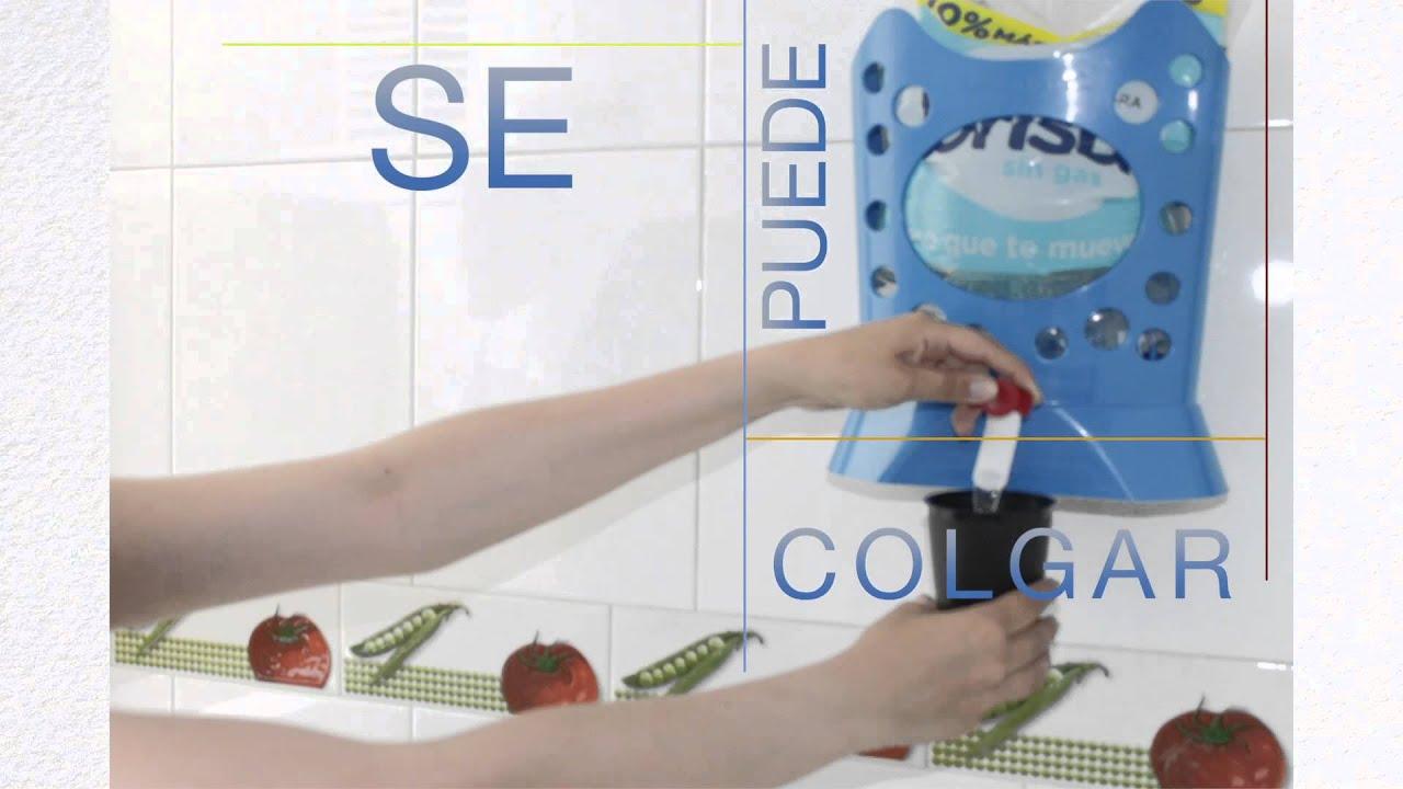 Nuevo dispensador para bolsa de agua de 5 y 6 litros nuevo - Dispensador de bolsas de plastico ...