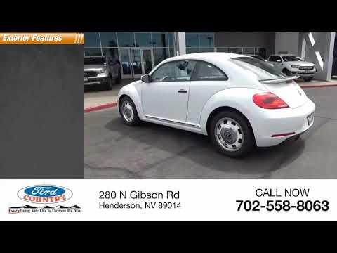 2015 Volkswagen Beetle Henderson NV 62845A