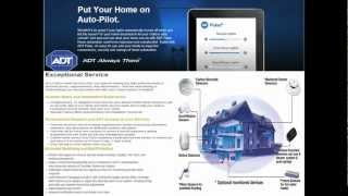 ADT® Security Systems - Providing you with peace of mind and solid protection