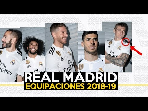 camiseta real madrid 2018-19