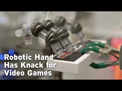 Robotic Hand Has Knack for Video Games
