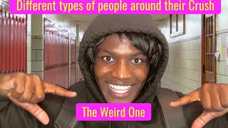 Download Different types of people around their Crush