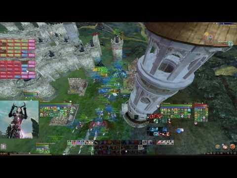 FEMA Nation vs DISASTER - 100 vs 100 Castle siege
