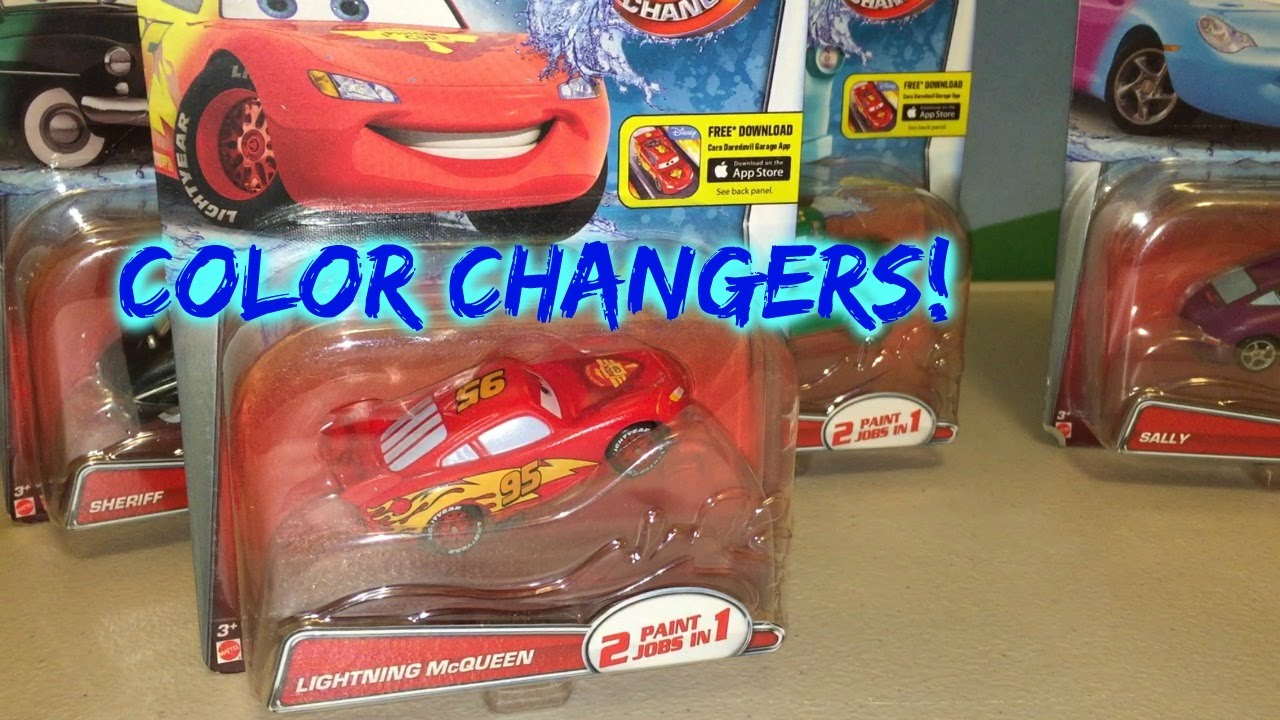 Cars Color Changers: COLOR CHANGERS DISNEY CARS Color Shifters LIGHTNING