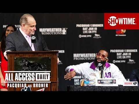 ALL ACCESS DAILY: Pacquiao vs Broner  Part 2  Sat Jan 19 on SHOWTIME PPV