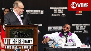 ALL ACCESS DAILY: Pacquiao vs. Broner | Part 2 | Sat, Jan 19 on SHOWTIME PPV