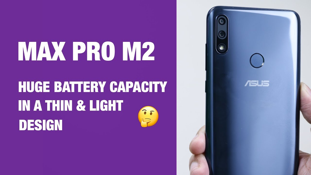 Unboxing & Hands on Review ASUS Zenfone Max Pro M2