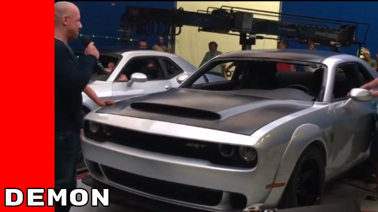 Dodge Demon Leaked Photos Youtube