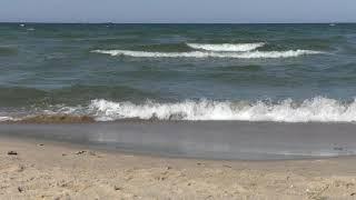 Балтийское море Таймлапс timelaps набегающие волны и замедленная съемка / Видео