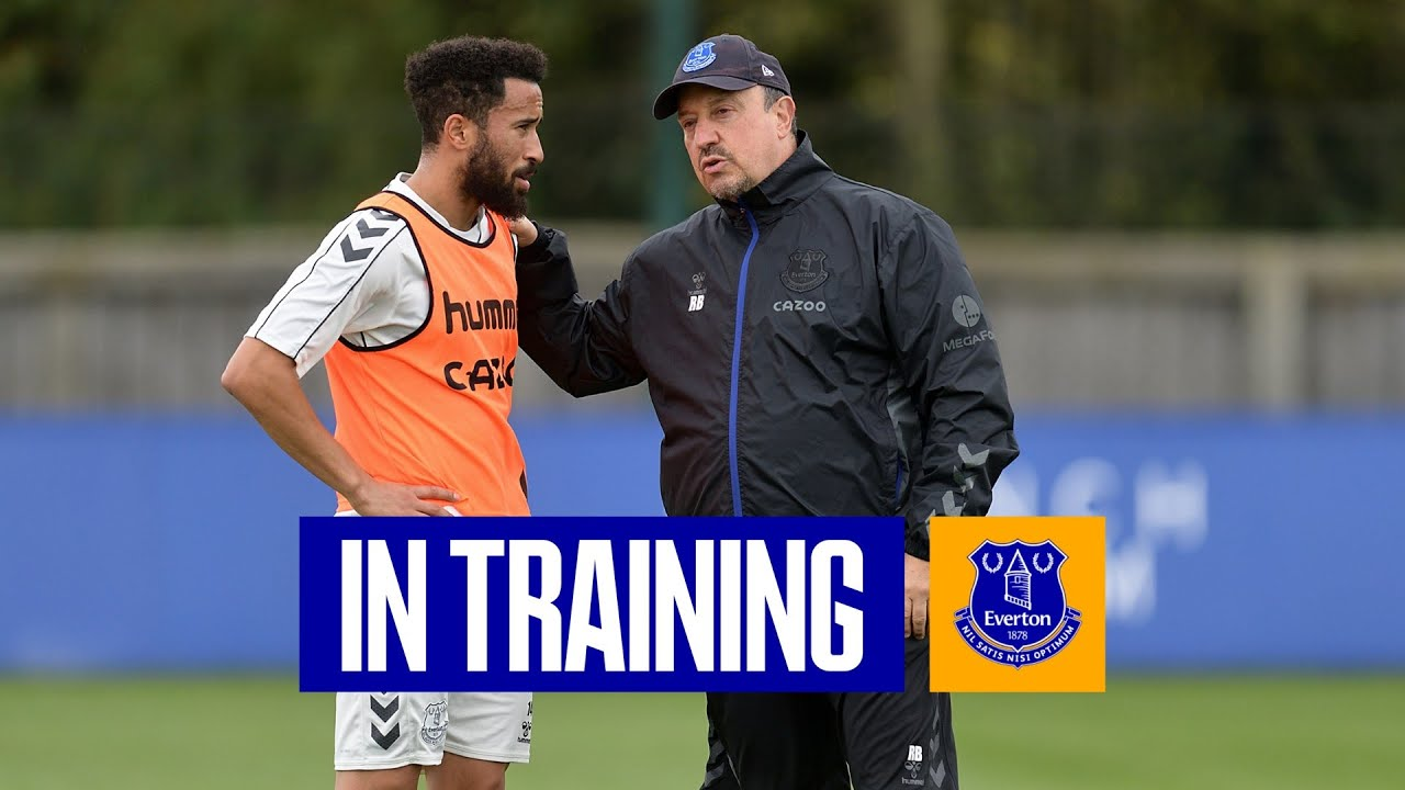THE WORK CONTINUES AT USM FINCH FARM! | EVERTON IN TRAINING