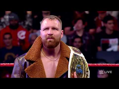 Dean Ambrose's Entrance As The New IC Champion with