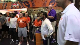 Clemson Football || The Big Weigh-In
