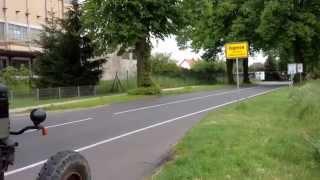 Lanz Bulldog Typ D1506 in Hagenow, Mecklenburg