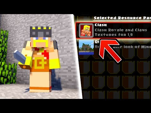 CLASH ROYALE / CLASH OF CLANS TEXTURE PACK | MINECRAFT